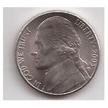 Eeuu Moneda De 5 Cents Año 2003 P !!