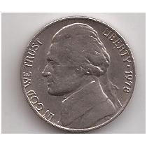 Eeuu Moneda De 5 Cents Año 1978 !!!