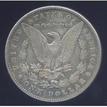 Usa Morgan Dolar 1885 Plata Excelente Silver Dollar Crown