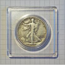 Estados Unidos 50 Centavos Plata 1942 D Muy Linda