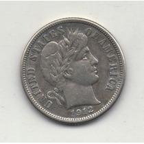 Numismatica1813.estados Unidos Dime De Plata De 1912 Exc.