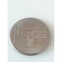 Moneda Estados Unidos Us 1/4 Dolar 1999 Pensilvania