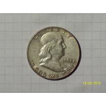 Estados Unidos 1/2 Dólar Plata 1962 Muy Linda