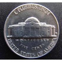 Moneda Usa Niquel 5 Cent Dolar 1940