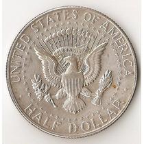 Estados Unidos, 1/2 Dollar, 1967. Plata. Xf-