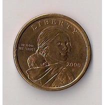 Estados Unidos Moneda De 1 Dolar Año 2000 D Excelente!!!