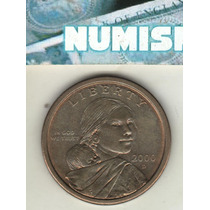 Usa Moneda De 1 Dólar Sacagawea 2000 D Km 310 - Xf