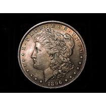 Estados Unidos Morgan Dolar 1896 Plata 900 26,7 Gs Eeuu 1
