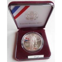 Dolar De Plata 900 Olimpiadas De Atlanta 1995 Estuche Origin