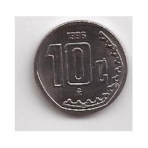 Mexico Moneda De 10 Centavos Año 1996 !!!