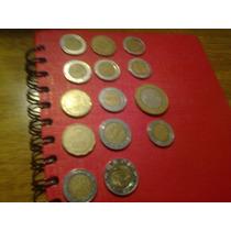 14 Monedas Extranjeras (mexico)