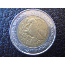 México - Moneda Bimetalica De 1 Peso, Año 2010 - Impecable