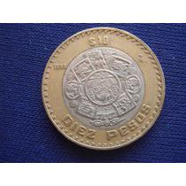 Mexico: Moneda Bimetálica 10 Pesos 1998