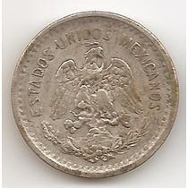 Mexico, 10 Centavos, 1906. Plata. Vf