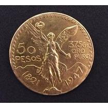 Moneda Mexicano Oro 37.5 G