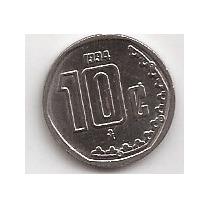 Mexico Moneda De 10 Centavos Año 1994 !!