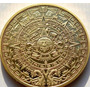 1 Moneda Solo Para Coleccionistas Calendario Maya Prediccion