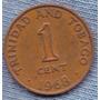 Trinidad Y Tobago 1 Cent 1968 * Escudo *