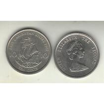 Caribe Del Este Moneda 10 Centavos 1981 Km 13 Sin Circular