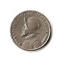 Panama Moneda De Niquel De 1 Decimo De Balboa Año 1973