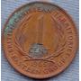 Territorios Caribeños Britanicos 1 Cent 1965 * Elizabeth Ii
