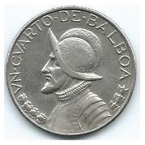 Moneda De Panamá 1/4 De Balboa 1.970 Xf