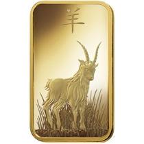 Robmar-lingote De Oro Suizo Cabra 5 G.sellada Certificada