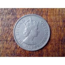 Belice Moneda Reina Elizabeth 25 Centavos 1986 Hermosa +++!!