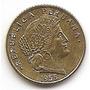 Moneda De Peru 5 Centavos Año1955 Km#223.2 Bronce