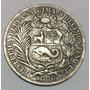 Moneda Perú Un Sol 1888. Tf . Plata