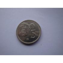 Moneda Española De 5 Pesetas 1980 Estrella 80 -mundial 82