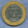 Republica Dominicana 5 Pesos 1997 * Bimetalica * Aniv. Banco