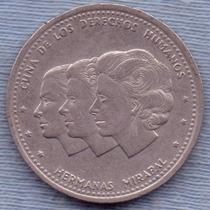 Republica Dominicana 25 Centavos 1987 * Derechos Humanos *