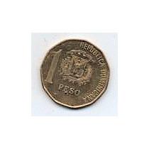 Rep Dominicana 1 Peso Año 1997 Mm 1253