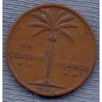 Republica Dominicana 1 Centavo 1942 * Palmera *