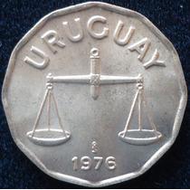 Uruguay, 50 Centesimos Año 1976.................. Blamanan