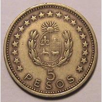 Moneda - 5 Pesos - Uruguay - Año 1965