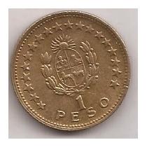 Moneda Uruguay De 1 Peso Año 1965