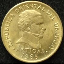 Uruguay, 5 Pesos Año 1968........................ Blamanan