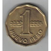 Uruguay Moneda De 1 Nuevo Peso 1977 !!!!!!