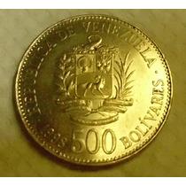 Venezuela:moneda De 500 Bolívares-año 1998-casi Sin Circular