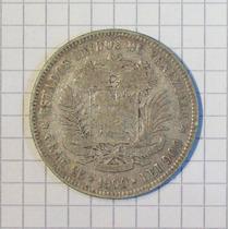 Venezuela 5 Bolivares Plata 1900 Linda Y Escasa