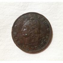 ººº Argentina Antigua 2.- Centavos Año 1891 * M B * ººº #533