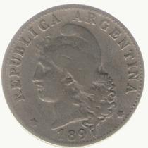 Argentina 20 Centavos 1897 Mb-