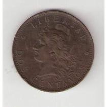Moneda 2 Centavos De 1884 Mb ¡no Te La Pierdas!