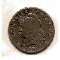 20 Cts Nickel Ley 3321 Año 1897 (b) Cn 021