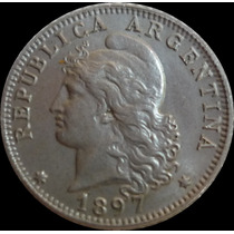 Argentina Moneda 20 Centavos 1897 S/circ. Fdc. Envìo Gratis