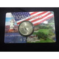 Blister De Moneda Cuarto De Dollar Conmemorativa