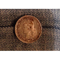 Antigua Moneda 10 Cent 1882