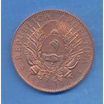 Argentina 1881 Patacon 100 Aniversario Medalla En Cobre Rara